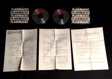 1988 FRANK ZAPPA PINK FLOYD ALICE COOPER BEATLES JIMI HENDRIX FLASHBACK 2CD SHOW