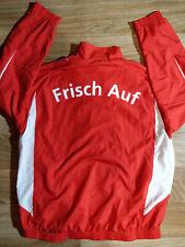 Puma Frisch Auf Göppingen Mens Handball Tracksuit Top Jacket Red Germany