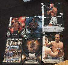 2015 Topps Chronicles UFC MMA COMPLETE BASE INSERT MASTER SET POSTER DEBUT RARE