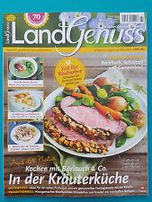 Land Genuss Die besten Gerichte der Saison! März/April  2/2017 ungelesen 1A