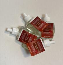Bath Body Works Sandalwood Fig Wallflowers Bulbs Refill Aromatherapy LOT of 4