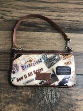 Disney Dooney & Bourke  Main Street Downtown Cosmetic Bag B1