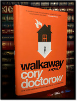 Walkaway ✎SIGNED✎ by CORY DOCTOROW New Limited Hardback 1st Edition Printing