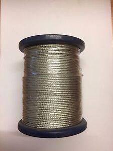 Wire rope 10mm Diameter x 100 meters