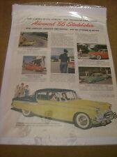 Original 1955 Studebaker Magazine Ad - Advanced