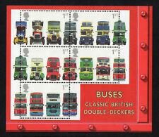 Great Britain 2001 Dubbeldekkers bussen blok-m/s   postfris/MNH
