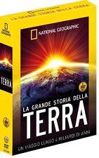 La Grande Storia Terra National Geographic Cofanetto 2 DVD Geologia Nuovo