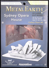 Metal Earth Sydney Opera House 3D Metal  Model + Tweezer  010534