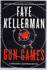 1st/1st Edition Gun Games by Faye Kellerman (2012, Hardcover)