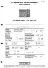 Nordmende Original Service Manual für HiFi-Stereo System 2800