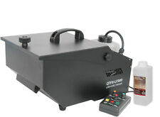 QTFX-LF900 basso livello Fogger Fumo Nebbia Macchina Effetto Ghiaccio Secco & 1 L FLUIDO NEBBIA