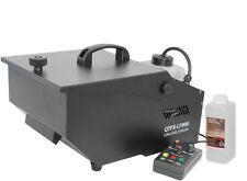 QTFX-LF900 LOW LEVEL FOGGER FOG SMOKE MACHINE DRY ICE EFFECT & 1L FOG FLUID
