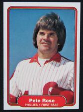 1982 Fleer Set Break Pete Rose Philadelphia Phillies #256 Baseball Card MINT