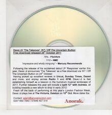(GO818) Dave I.D., The Takeover - 2011 DJ CD