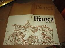 GUIDO CREPAX BIANCA ED.MORGAN ANNO 1972 COMPLETO DI RARO COFANETTO EDITORIALE
