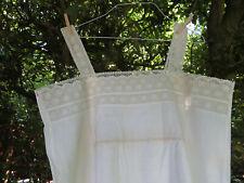 Unworn Antique Nightgown Nightshirt  Pretty Lace US-$ 29.90