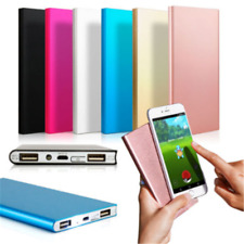 Mini Portable Power Bank 20000mAh USB External Battery Charger For Cell Phone US