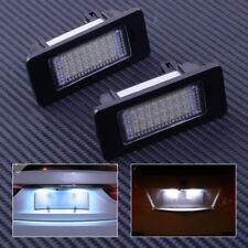 Fit SKODA Octavia 3/Superb B6/Combi/Rapid/Yeti 2Pcs 24-LEDs License Plate Light