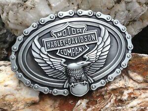 Gürtelschnalle - Harley Davidson - Motor Cycles Buckle--- TOP
