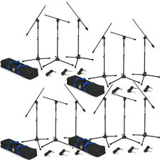 Samson Bl3Vp Boom Microphone Stand Xlr Cable 12-Pack Bundle w/ Carry Bags