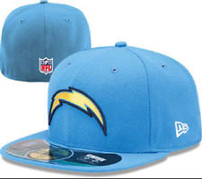 New Era Hat Cap NFL Football San Diego Chargers 7 1/4 59fifty 2012 Sideline
