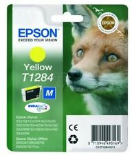 ORIGINALE CARTUCCIA INCHIOSTRO GIALLO EPSON t1284 per Stylus sx235w sx425w sx130 sx435w