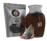 Earl Grey Pyramid Sachets Herbal Loose Leaf Tea Contains Caffeine ICED or HOT