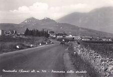 MONTECELIO - Panorama dalla stradale 1962