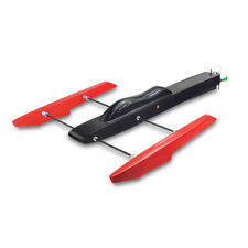 RC Pro Boat FRP  EP GP THE SWORDER OUTRIGGER HYDROPLANE RACER Red-Black ARR kit