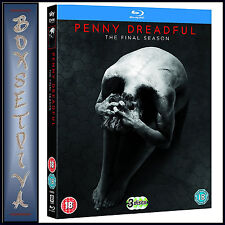 PENNY DREADFUL - COMPLETE SEASON 3 - FINAL SEASON  **BRAND NEW BLURAY**