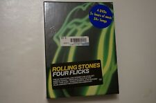 The Rolling Stones:Four Flicks Mick Jagger,4 DVD Box-Set+Booklet, 2003 Rare  NEW