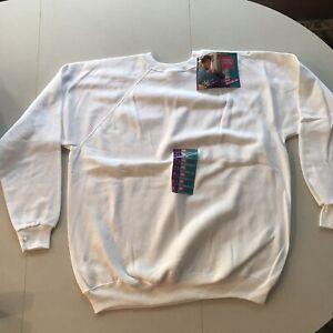 Vintage Hanes Her Way Crewneck Sweatshirt NWT Deadstock USA Raglan
