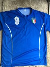 Mario Balotelli #9 Unbranded Italy Jersey Size Adult XL World Cup 2014 Forza 9