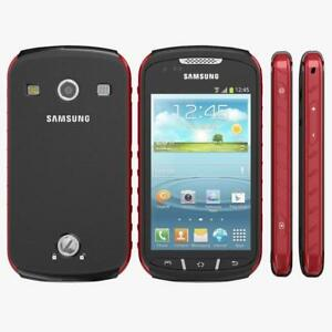 Samsung Galaxy Xcover 2 GT-S7710 - 4GB - Red / Black  Unlocked Factory Sealed
