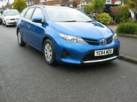 2014 TOYOTA AURIS 1.4 D-4D ACTIVE TOURING -one owner from new full service hist