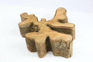 Brasiletta Epoxy Exotic Natural Live Edge Wood Slab Lumber Coffee Table 5x14x17