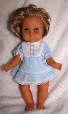 Adorable poupée ancienne  en caoutchouc 34 cm