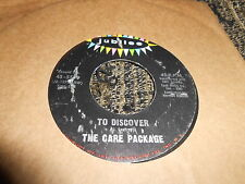 "THE CARE PACKAGE To discover/The world of Thursday Morning 7"" Jubilee 45-5599 US"