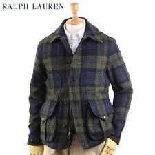 RALPH LAUREN - POLO - Wool Tartan Plaid - Hunting Jacket - Medium - $595 - M