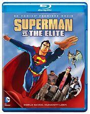 SUPERMAN VS THE ELITE  (DC Animation)  Blu Ray - Sealed Region free for UK
