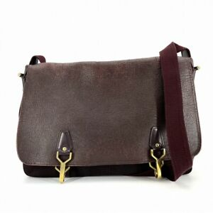 Louis Vuitton Taiga Shoulder Bag Del Su del Soo M30166 Bordeaux  # DW315-141