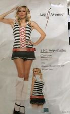 BNWT Adult 2 Piece Striped Sailor Outfit XS