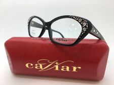 CAVIAR M3011 C24 EYE GLASSES GENUINE AUSTRIAN CRYSTAL FRAMES 55-15-140 NEW!!!