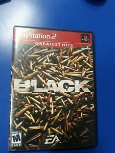 Black (Sony PlayStation 2, 2006) PS2 Complete