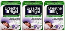 "Breathe Right EXTRA  ""50% stärker""  78 Nasenpflaster transparent - besser atmen"