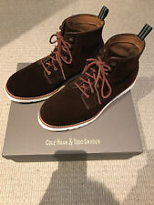 Cole Haan & Todd Snyder C24083 Chestnut Suede Cortland Grand Boot - Size 9(M) US