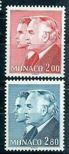 Monaco - 1983 - Yvert 1374/1375 - Princes - New