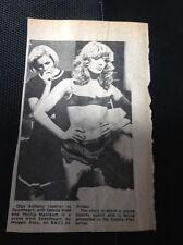 67-3 Ephemera 1974 Picture Actress Olga Anthony Sweetheart Delena Kidd Play