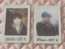 (ver. Seungyoon)Lot of 2 WINNER EXIT : E Mini Album Polaroid Photocard S VER. YG