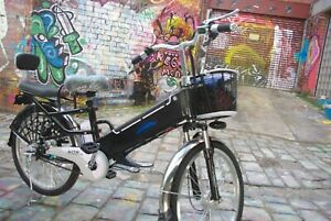 FITCHE Bike - Black24 inch 10-12ah/48v lithium battery electric bike city
